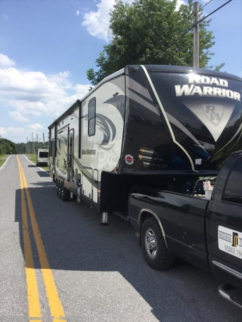 New 2018 Heartland RV Road Warrior RW 428 For Sale by Chesaco RV - Shoemakersville available in Shoemakersville, Pennsylvania