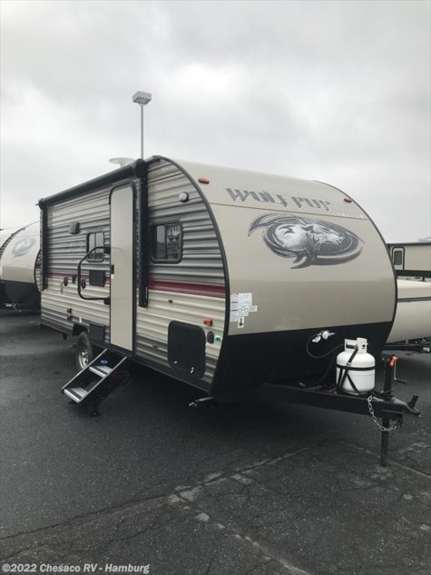 New 2018 Forest River Cherokee Wolf Pup 16BHS For Sale by Chesaco RV - Shoemakersville available in Shoemakersville, Pennsylvania