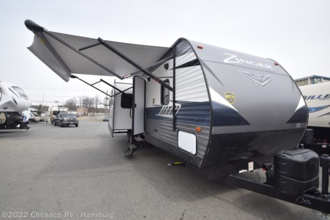New 2018 CrossRoads Zinger ZR333DB For Sale by Chesaco RV - Shoemakersville available in Shoemakersville, Pennsylvania