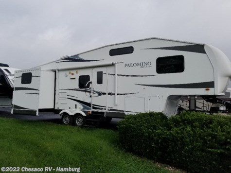 Used 2012 Palomino Thoroughbred Elite 829BHDB For Sale by Chesaco RV - Shoemakersville available in Shoemakersville, Pennsylvania