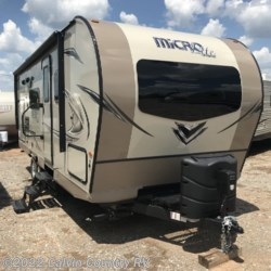 New 2019 Forest River Flagstaff Micro Lite 25BDS For Sale by Calvin Country RV available in Depew, Oklahoma