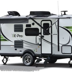 Stock Image for 2021 Forest River Flagstaff E-Pro E19FBS (options and colors may vary)