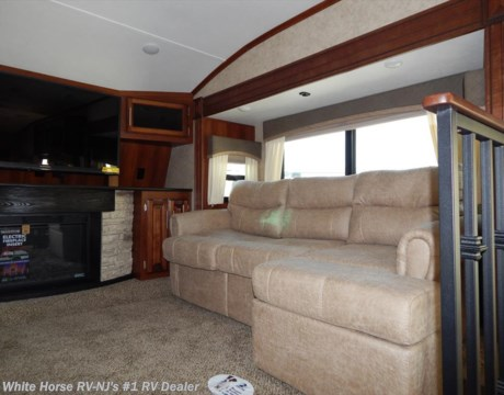 J10407 2016 jayco eagle 339flqs front living room quad - Front living room fifth wheel used ...
