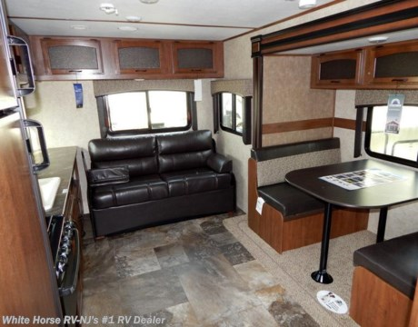 J10660 2016 Jayco Jay Feather 23rlsw Rear Sofa Booth