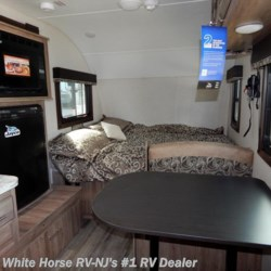 White Horse RV Center (Williamstown) 2018 Hummingbird 17RB Front Queen, Full Rear Bath, Kitchen Slide  Travel Trailer by Jayco | Williamstown, New Jersey