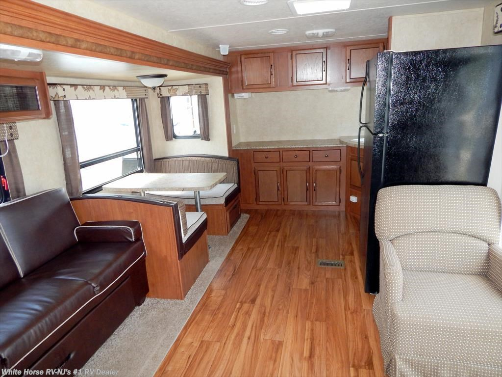 2013 Forest River Rv Wildwood 30fkbs Front Kitchen Double