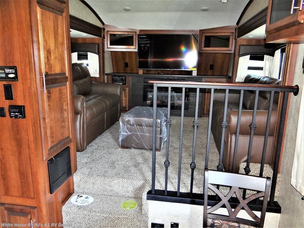 2018 jayco rv eagle 339flqs front living room quad slide - Front living room fifth wheel for sale ...
