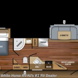 2018 Jayco White Hawk 29FLS Front Living Room Double Slide  - Travel Trailer New  in Williamstown NJ For Sale by White Horse RV Center (Williamstown) call 877-297-2166 today for more info.