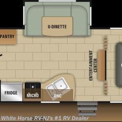 2018 Starcraft Launch Outfitter 24ODK 2 BdRM U-Dinette Slide w/ DBL Bed Bunks  - Travel Trailer New  in Williamstown NJ For Sale by White Horse RV Center (Williamstown) call 877-297-2166 today for more info.