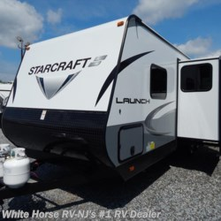 New 2018 Starcraft Launch Outfitter 24ODK 2 BdRM U-Dinette Slide w/ DBL Bed Bunks For Sale by White Horse RV Center (Williamstown) available in Williamstown, New Jersey