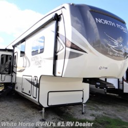 New 2018 Jayco North Point 387RDFS Rear Living Room Five Slides For Sale by White Horse RV Center (Williamstown) available in Williamstown, New Jersey