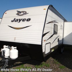 New 2018 Jayco Jay Flight SLX 245RLSW Front Queen, Rear Sofa w/Dinette Slide For Sale by White Horse RV Center (Williamstown) available in Williamstown, New Jersey
