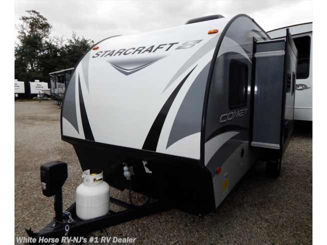 New 2018 Starcraft Comet Mini 16KS Rear Queen, Front U-Dinette w/Kitchen Slide available in Williamstown, New Jersey