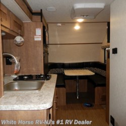 White Horse RV Center (Williamstown) 2018 Comet Mini 16KS Rear Queen, Front U-Dinette w/Kitchen Slide  Travel Trailer by Starcraft | Williamstown, New Jersey