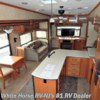 White Horse RV Center (Williamstown) 2011 Cardinal 3425 RT Rear Entertainment Triple Slide  Fifth Wheel by Forest River | Williamstown, New Jersey