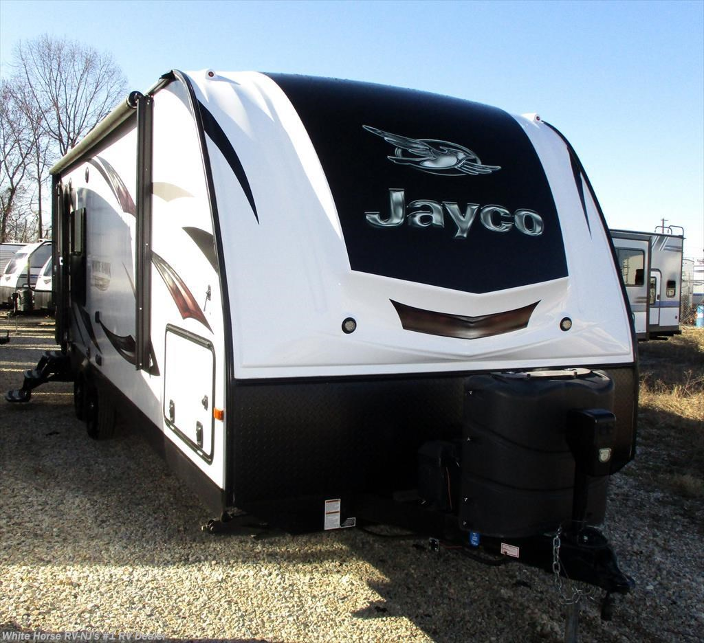 Jayco Travel Trailers: 2016 Jayco RV White Hawk 24RKS Rear Kitchen Slide-out For