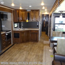 White Horse RV Center (Williamstown) 2019 Eagle 338RETS Rear Entertainment Triple Slideout  Travel Trailer by Jayco | Williamstown, New Jersey