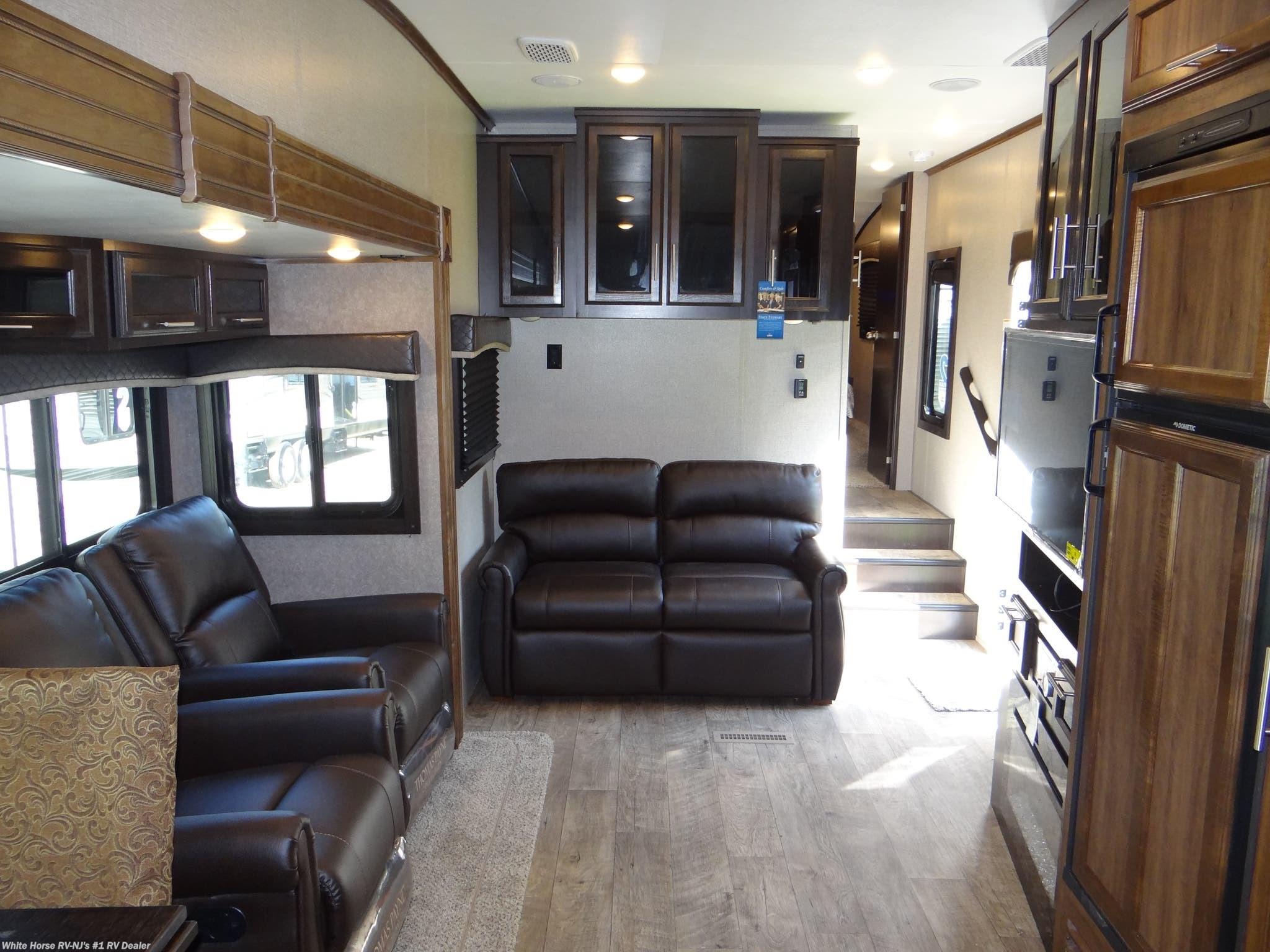 ... Fifth Wheel New In Williamstown White Horse RV Center (Williamstown)  2019 Eagle HT 30.5MLOK Rear Kitchen Double Slideout