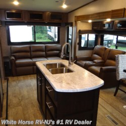 White Horse RV Center (Williamstown) 2019 Eagle HT 28RSX Theater Seats, Rear Sofa Triple Slide  Fifth Wheel by Jayco | Williamstown, New Jersey