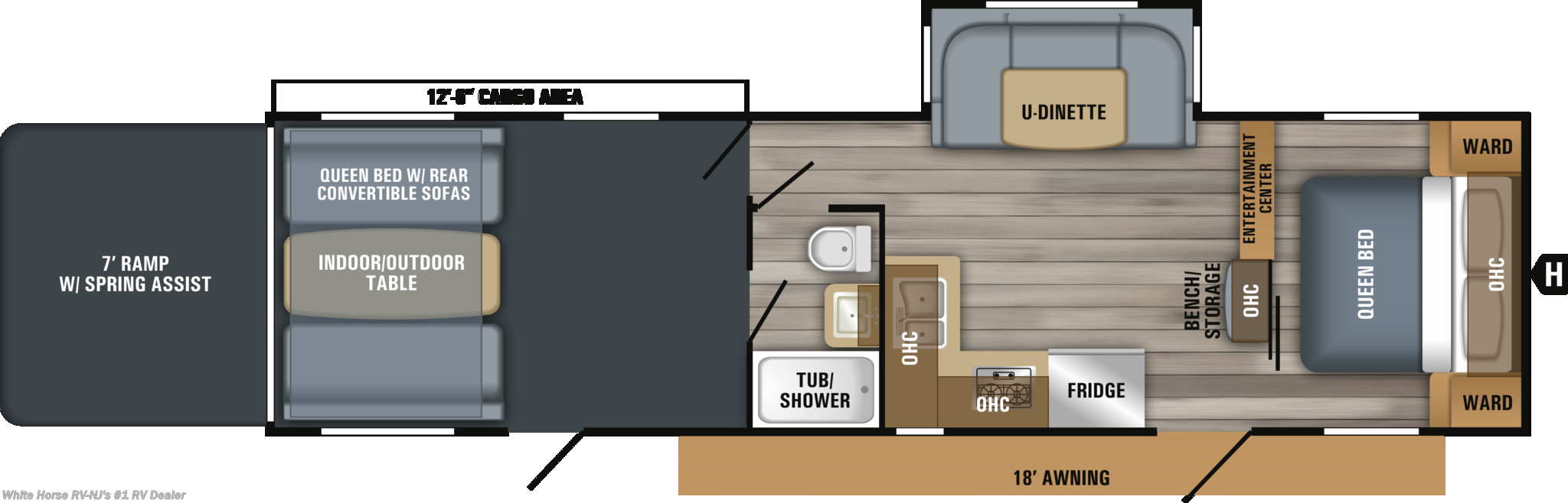 Oc1947737 2019 Jayco Octane Zx Super Lite 293 Front Qb W U Dinette 2006 Pace Arrow Slide Out Wiring Diagram Next