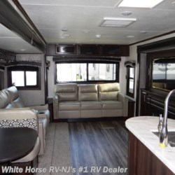 White Horse RV Center (Williamstown) 2019 Jay Flight 34RSBS Rear Living Room Triple Slideout  Travel Trailer by Jayco | Williamstown, New Jersey