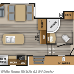 2019 Jayco Eagle HT 28.5RSTS Rear Sofa Living Room Triple Slide  - Fifth Wheel New  in Williamstown NJ For Sale by White Horse RV Center (Williamstown) call 877-297-2166 today for more info.