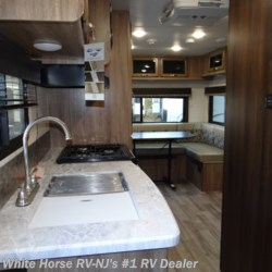 White Horse RV Center (Williamstown) 2019 Jay Feather 21RD Front Queen Bed, Rear U-Lounge/Dinette  Travel Trailer by Jayco | Williamstown, New Jersey