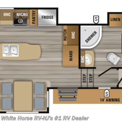 2019 Jayco Eagle HT 30.5CKTS Rear Sofa Center Is. Kitchen Triple Slide  - Fifth Wheel New  in Williamstown NJ For Sale by White Horse RV Center (Williamstown) call 877-297-2166 today for more info.