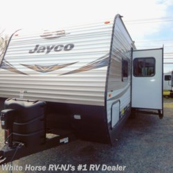 New 2019 Jayco Jay Flight 28BHBE 2-BdRM Sofa/U-Dinette Slide w/DBL Bed Bunks For Sale by White Horse RV Center (Williamstown) available in Williamstown, New Jersey