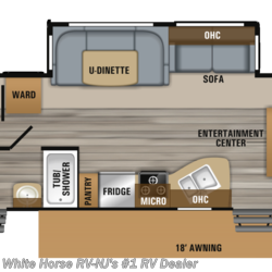 2019 Jayco Jay Flight 32BHDS 2-Bedroom Double Slideout  - Travel Trailer New  in Williamstown NJ For Sale by White Horse RV Center (Williamstown) call 877-297-2166 today for more info.