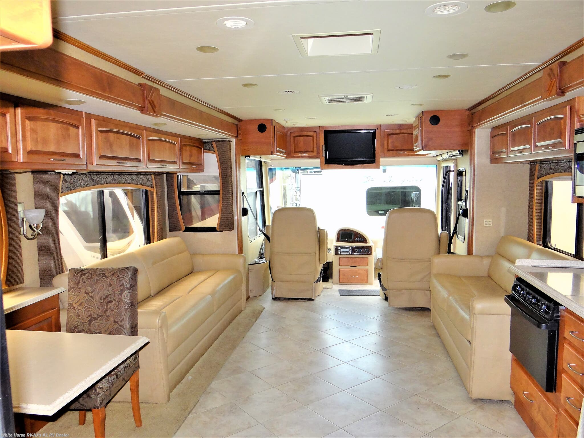 #CS12464 - 2011 Holiday Rambler Neptune 40PBQ Quad Slide for sale in  Williamstown NJ