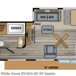 2019 Jayco Bungalow 40FKDS Front Kitchen Double Slideout  - Destination Trailer New  in Williamstown NJ For Sale by White Horse RV Center (Williamstown) call 877-297-2166 today for more info.