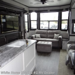 White Horse RV Center (Williamstown) 2019 Bungalow 40LOFT Front Living Room Triple Slideout w/Loft  Destination Trailer by Jayco | Williamstown, New Jersey