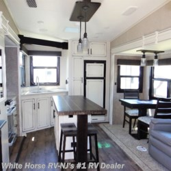 White Horse RV Center (Williamstown) 2020 Eagle 319MLOK Front Bedroom Dinette/Recliner Slideout  Fifth Wheel by Jayco | Williamstown, New Jersey