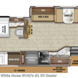 2020 Jayco Seneca 37L Rear King Triple Slideout w/Bunks  - Class C New  in Williamstown NJ For Sale by White Horse RV Center (Williamstown) call 877-297-2166 today for more info.