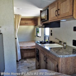 2017 Starcraft Autumn Ridge Mini 17RD Front Bed, Rear Dinette  - Travel Trailer Used  in Williamstown NJ For Sale by White Horse RV Center (Williamstown) call 877-297-2166 today for more info.
