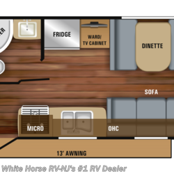 2020 Jayco Jay Feather X19H Two Drop Beds w/Sofa & Dinette  - Expandable Trailer New  in Williamstown NJ For Sale by White Horse RV Center (Williamstown) call 877-297-2166 today for more info.