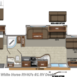 2020 Jayco Jay Flight 38FDDS Front Den Double Slideout  - Travel Trailer New  in Williamstown NJ For Sale by White Horse RV Center (Williamstown) call 877-297-2166 today for more info.