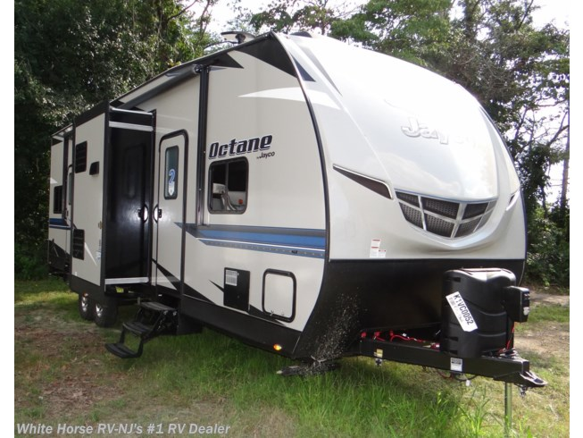 New 2019 Jayco Octane 32C Front King Double Slideout w/10' Garage Area available in Williamstown, New Jersey