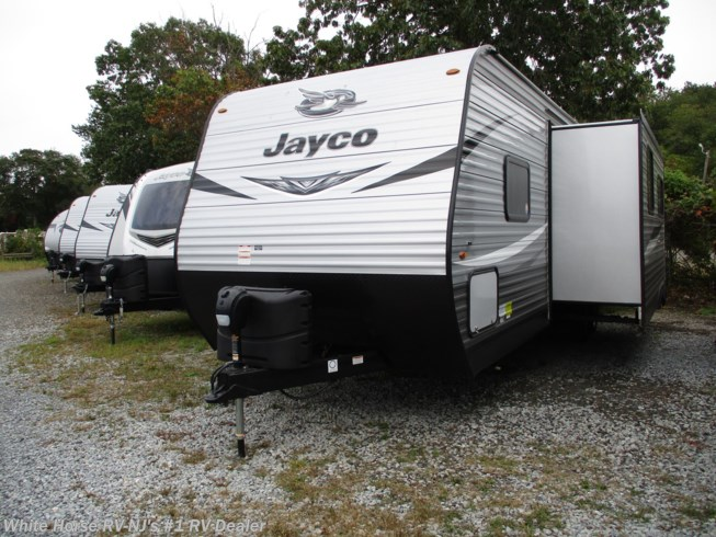 New 2021 Jayco Jay Flight SLX 284BHS 2-BdRM Sofa/U-Dinette Slide, DBL Bed Bunks available in Williamstown, New Jersey