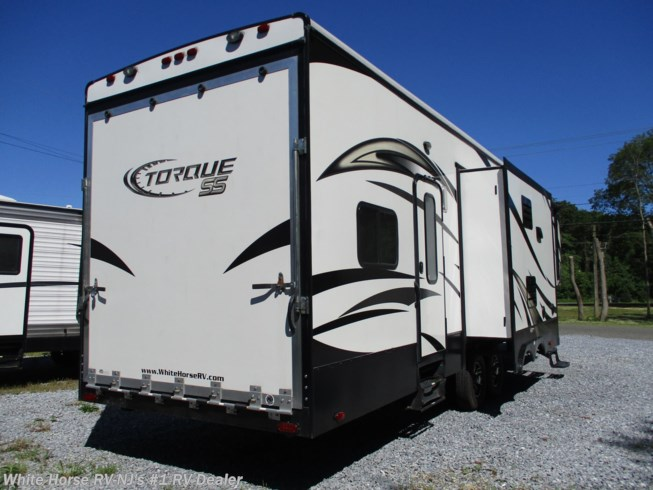 Used 2015 Heartland Torque TQ 325 Triple Slide, 1 & 1/2 Baths, 10' Garage! available in Williamstown, New Jersey