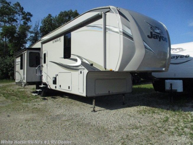 Used 2018 Jayco Eagle 336FBOK Triple Slide, 1 & 1/2 Baths, Rear Living available in Williamstown, New Jersey