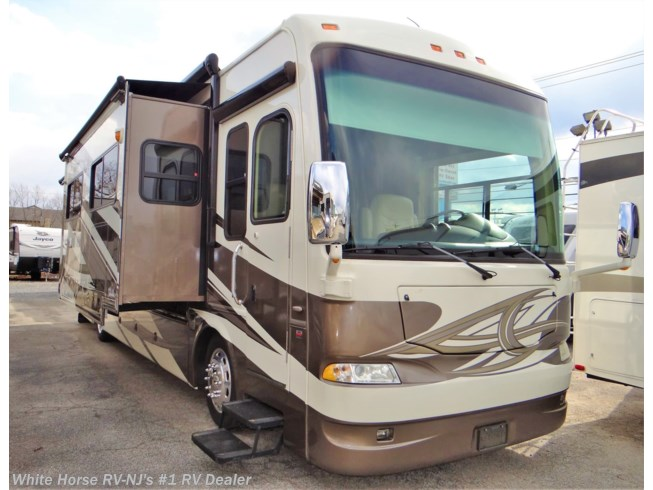 Used 2012 Thor Motor Coach Astoria 36MQ Diesel Pusher Quad Slide, King Bed available in Williamstown, New Jersey