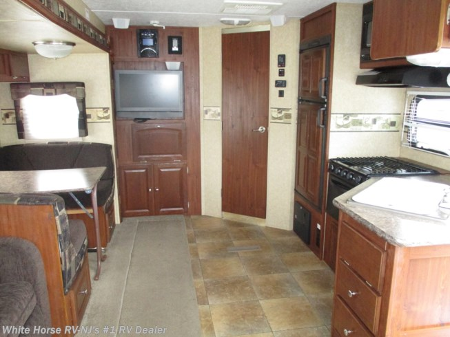 Used 2010 Forest River Rockwood Ultra Lite 2604 Rear Living Room Slide available in Williamstown, New Jersey