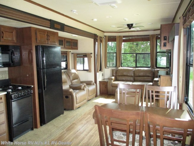 2015 Bungalow 40FSDS Front Living Area Double Slide by Jayco from White Horse RV Center in Williamstown, New Jersey