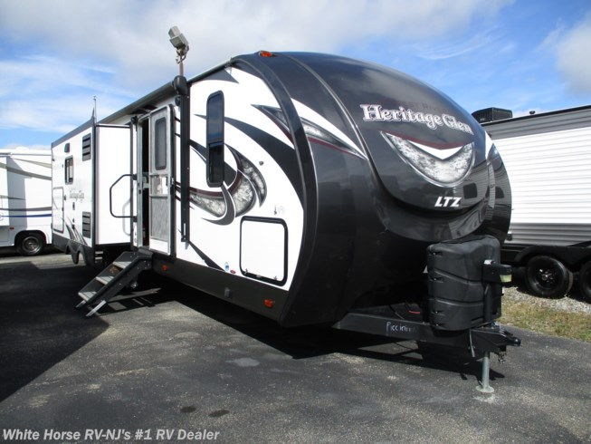 Used 2018 Forest River Wildwood Heritage Glen LTZ 272RL Double Slide, Rear Living Room available in Williamstown, New Jersey