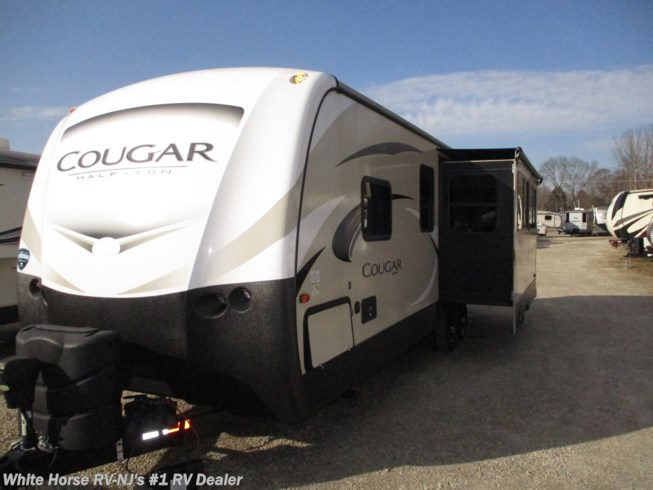 Used 2019 Keystone Cougar Half-Ton 27SAB Rear Living Area Slide available in Williamstown, New Jersey