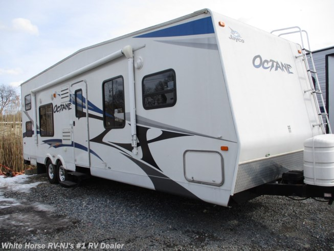 Used 2011 Jayco Octane ZX T29A Front Queen, Rear 12' Cargo Area available in Williamstown, New Jersey