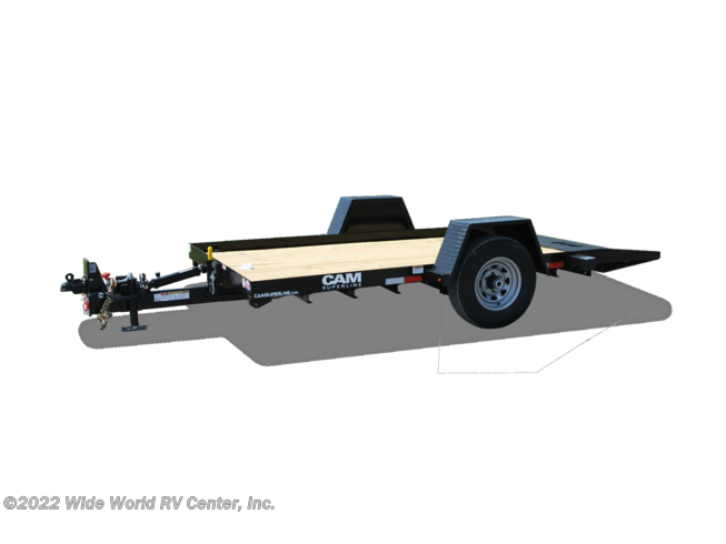 New 2020 CAM Superline 3CAM612TT Single Axle Tilt - 3Ton available in Wilkes-Barre, Pennsylvania