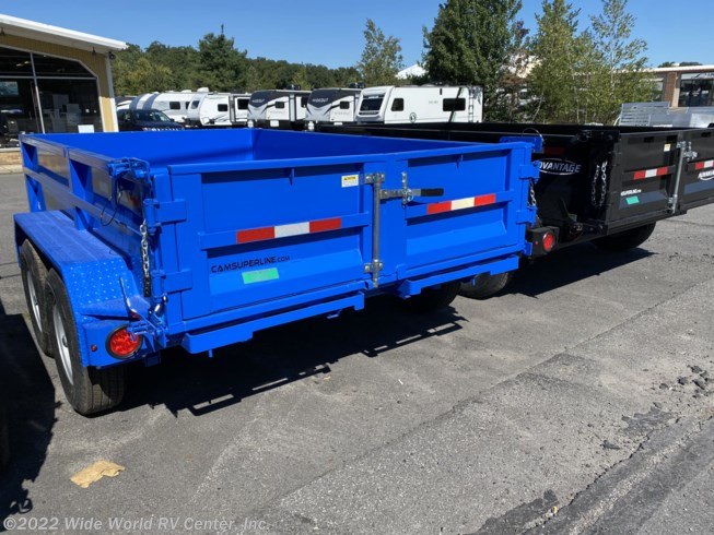 2021 CAM Superline 5CAM610LPD 5 Ton Low Profile Dump - New Dump For Sale by Wide World RV Center, Inc. in Wilkes-Barre, Pennsylvania